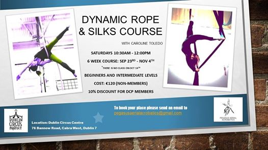 Dynamic Rope and Silks