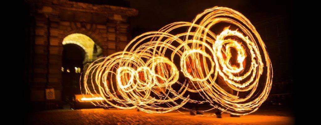 prometheus dublin circus project fire show