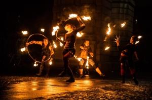 Fire Hula Hoop, Fire Poi