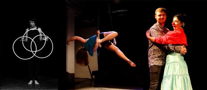 dublin circus project summer_cabaret_hula_hoop trapeze clown comedy